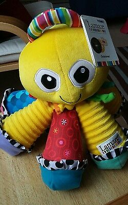 Lamaze octotunes music octopus soft toy interactive baby child NWT colourful