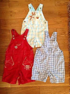 Baby Boys Summer dungarees Bundle 12-18 Months