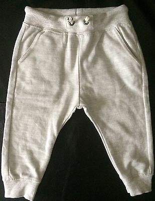 Zara baby boy grey trousers jogging bottoms size 9-12 months NEW other