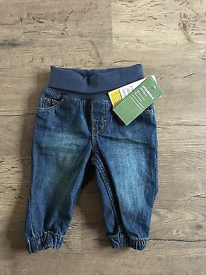 BNWT Baby Jeans H&M 4-6 Months Soft Waistband Unisex