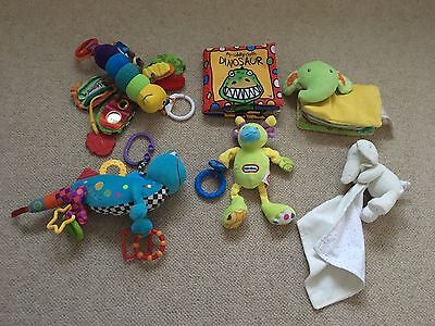 Mixed Bundle Of Baby Sensory Toys Including Lamaze & Little Tikes Etc