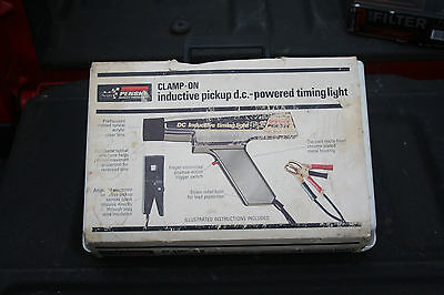 Sears Penske Clamp-On Inductive pickup d.c - powered timing light