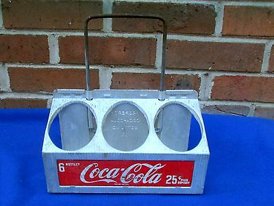 1950's Coca-Cola 6-Bottle Carrier - Days of the 5-Cent Coke - 6 for 25 Cents!