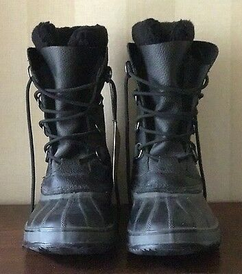 Sorrel boots Men's size 12 Waterproof and insulated Black Lace-up New With Tags!