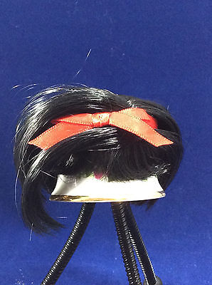 "Madame Alexander Accessories WIG for 8"" 10"" doll SNOW WHITE Black HAIR NEW"