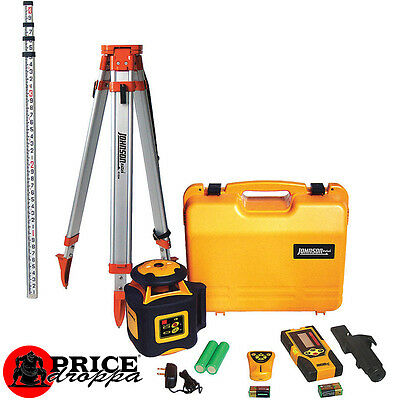 Johnson Horizontal Rotary Laser Level System