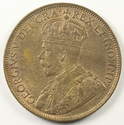CANADA 1912 LARGE CENT AU KM-21 Nice Example