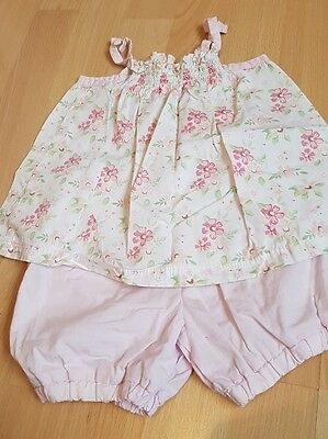 3-6 summer bloomers and top bundle