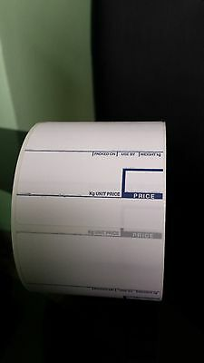 CAS Scale Labels Thermal 58mm x 60mm 5 Rolls Free Delivery