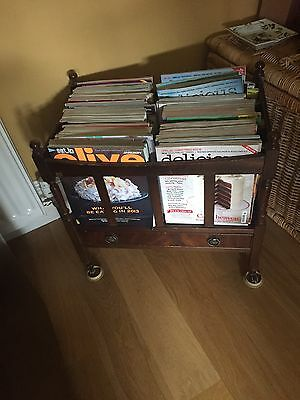 Antique Magazine Rack