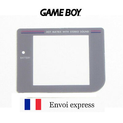 Ecran Game Boy Classique FAT Screen [Vitre de remplacement Gameboy GB] FRANCE