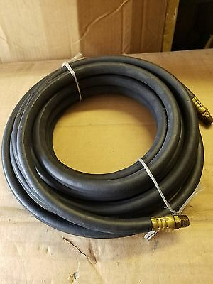 "25' x 1/4"" Air Hose Rubber 25ft Compressed Air  Goodyear black"