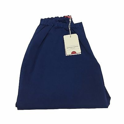 MARINA SPORT by Rinaldi women's trousers short blue light mod RARITY cotton