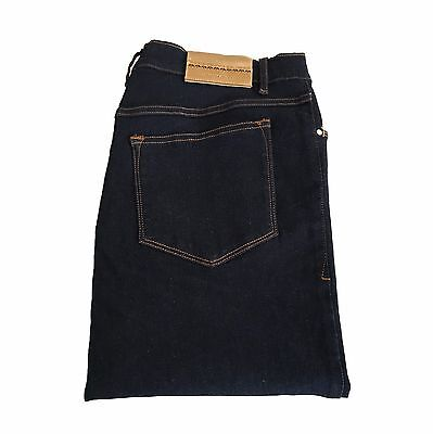 MARINA SPORT by Rinaldi women's jeans dark blue slim mod GOLDENSEAL 92% cotton
