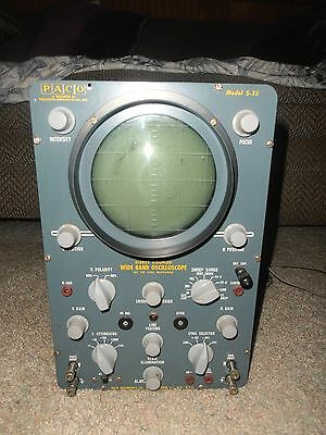 Vintage  Paso  Model S-55   Wide Band  Oscilloscope