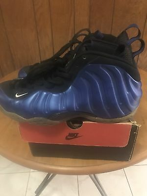 cc58027b95da3 NIKE AIR FOAMPOSITE One OG 1997 (Dark Neon Royal White-Black) 830017 ...