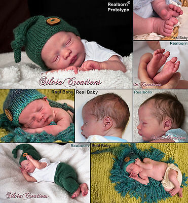 Realborn Presley Asleep Reborn Doll Kit LE SOLD OUT