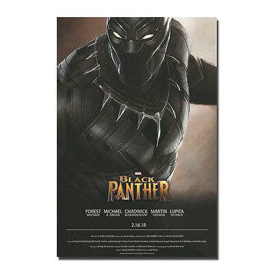 Black Panther Superheroes Movie Silk Poster Art Print 12x18 24x36 inch