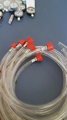 Bag in box Suction Line with BAG connectors.  NEW   Qty 6.