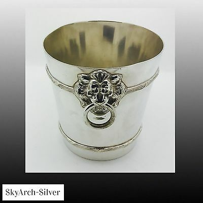 SILVER PLATED Wine Cooler C1930 ENGLISH SILVER PLATE
