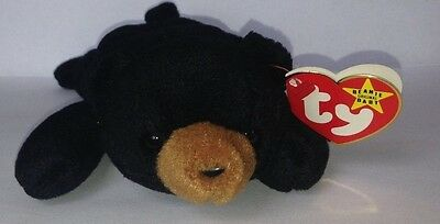 Ty Beanie Baby 1993 Blackie Errors(Rare) Ty Deutschland/Swing/Un-Numbered/PVC