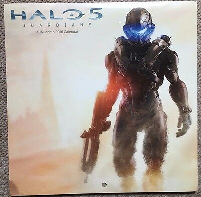 Official Halo 5 Wall Calendar 2016 / Brand New and Sealed