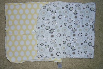 Lot Of Two~ Infant  Recieving Blankets- Unisex- Preowned