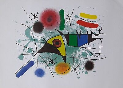 limitierter Miro Lithographie Paul Klee Chagall Basquiat HARING OBEY Dali Warhol