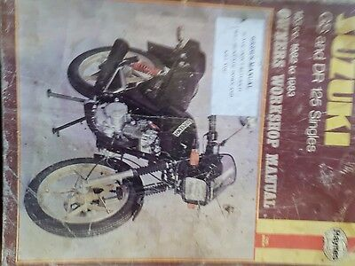 Gs Dr 125 motorcycle manual