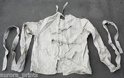 Genuine RESTRAINT mental asylum STRAITJACKET 1952 Soviet madhouse stamped