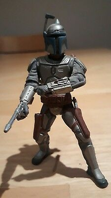 "Star Wars Attack of the Clones Jango Fett 4"" Action Figure 2001"