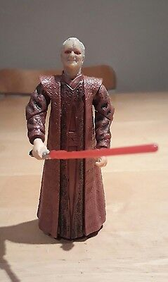 "Star Wars ROTS Revenge of the Sith Emperor Palpatine 4"" Action Figure 2004"