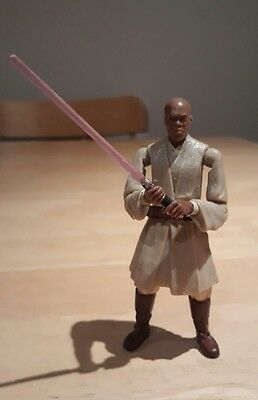 "Star Wars ROTS Revenge of the Sith Mace Windu 4"" Action Figure 2004"