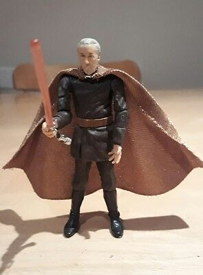 "Star Wars ROTS Revenge of the Sith Count Dooku 3 3/4"" Action Figure 2004"