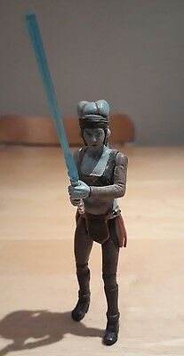 "Star Wars ROTS Revenge of the Sith Aayla Secura 4"" Action Figure 2004"