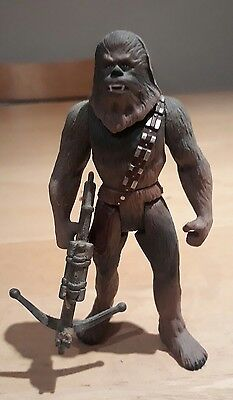 "Vintage Star Wars Power of the Force Chewbacca 4"" Action Figure 1995"
