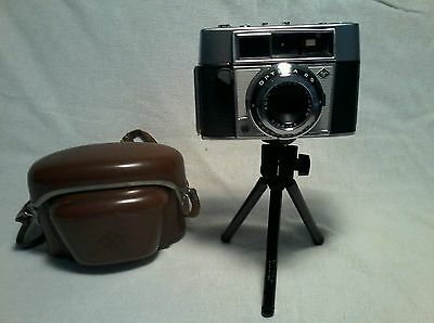 Vintage Agfa Optima II S 35mm camera and case untested