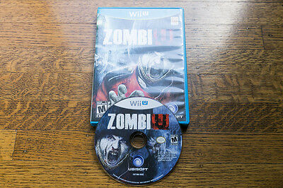 ZombiU - LIKE NEW CONDITION (Nintendo Wii U, 2012)
