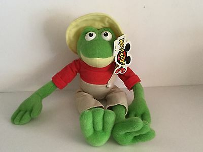 Vintage Disney Theme Parks Brer Frog  Song Of The South Plush   New w/Tag