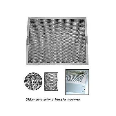 Stainless Steel Frame Exhaust Canopy Filters 497Mm X 394Mm