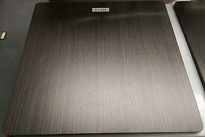 Black Textured 700 x 700 Table Top LY839