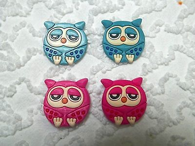 C 637 US Seller Owl s Clog Plug Shoe Charms Will Also Fit Jibitz,Croc