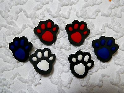 C 617 US Seller New Pet Paws Clog Plug Shoe Charms Will Also Fit Jibitz,Croc