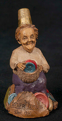 Tom Clark Thimble People Mother Pearl #5709 Sewing Gnome Cairn Retired