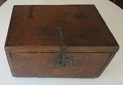 Colonial-era Travel Desk c. 1790s partial provenance New York family