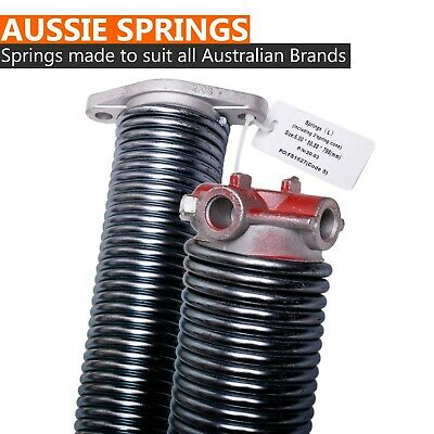 New Garage Door Torsion Springs For Single / Double Sectional Panel Lift Doors