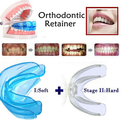 Silicone Soft Hard Orthodontic Retainer Teeth Corrector Teeth Whitening Trays