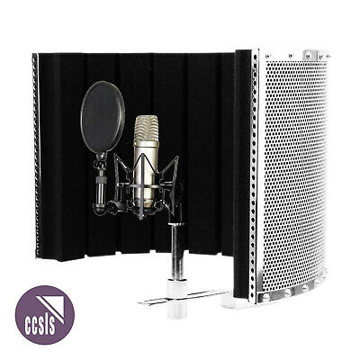 Rode NT1A Studio Condenser Microphone with Alctron PF32 MkII Isolation Screen