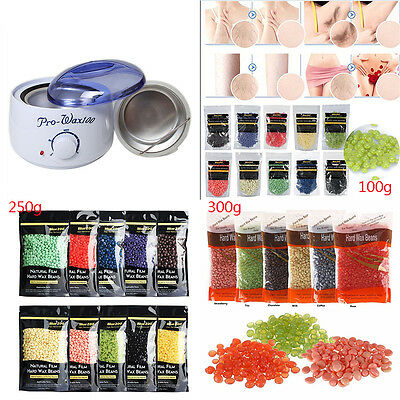 Pro 100-300g Wax Heater Kit Pot Salon Waxing Hair Removal Warmer Hot Wax Bean AU