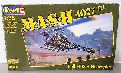 Revell 1/35 MASH 4077th Bell H-13H Helicopter Plastic Model Kit #4404